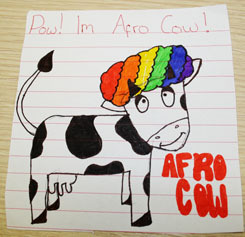 afro-cow